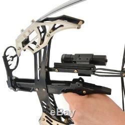 Tir À L'arc 14 ' ' Mini Composé Hunting Bow Flèche Laser Sight Tir