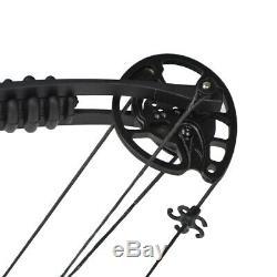 Tir À L'arc 30-55lbs Composé Chasse À L'arc Cible Champ Ajustable Tir Pêche