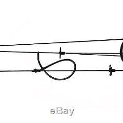 Tir À L'arc 30-60lbs Black Compound Bow Adulte Droite Cible Chasse 24-29 Dessiner