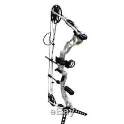 Tir À L'arc 35-70lb Composé Bow Main Droite Adulte Chasse Cible Extérieure Camo