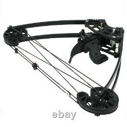 Tir À L'arc 50lbs Composé Bow Ambidextre Double Usage Triangle Bowfishing Bow Hunting