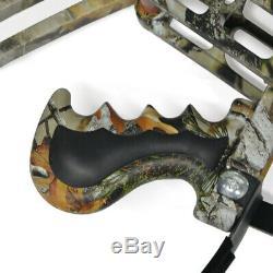 Tir À L'arc Arc À Poulies À Double Usage Catapult Billes En Acier Bowfishing Hunting Triangle
