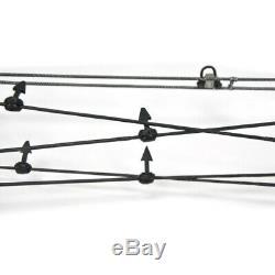 Tir À L'arc Catapult Triangle Arc À Poulies Double Usage De Chasse À Billes En Acier Bowfishing