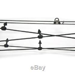 Tir À L'arc Catapulte Triangle Arc À Poulies À Double Usage Chasse Pêche À L'arc