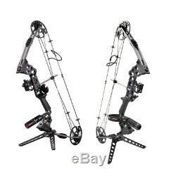 Tir À L'arc Composé Bows 20-70lbs Gauche / Droite Chasse Main Bow Set Repose Flèche