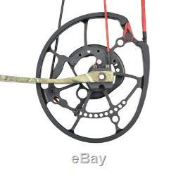 Tir À L'arc Composé De Chasse Arc Pêche Catapult À Billes En Acier À Double Usage Pousse