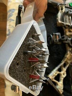 Tir À L'arc Diamant Infini Pro Edge Droit De Chasse Handed Bow, Mossy Oak Country