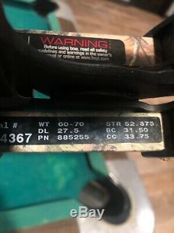 Tir À L'arc Hoyt Faktor 30 Composé Chasse À L'arc Rh # 60-70 27.5 Belle Arc En Bonne Con