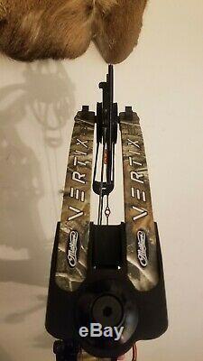 Tir À L'arc Mathews Vertix Bow Composé Rh Chasse 27,5 65 # Realtree 85%