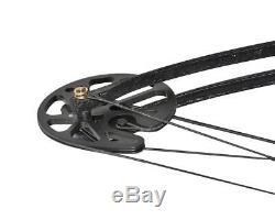 Trousse D'arc À Poulies Chasse À L'arc À Poulies Pro Black Archery, 30 À 75 Lb
