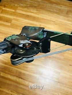 Unreal Mint Oneida Eagle Aero Force X80 Arc De Chasse Au Poisson Droit 50-70lb 25-28 Tirage
